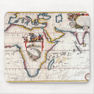 Map of Africa 5 Mouse Mat
