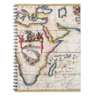 Map of Africa 5 Notebook