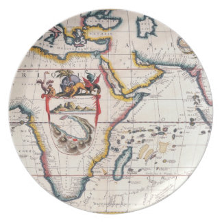 Map of Africa 5 Plate