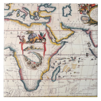 Map of Africa 5 Tile