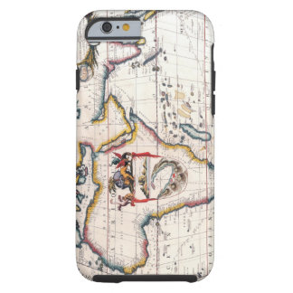 Map of Africa 5 Tough iPhone 6 Case