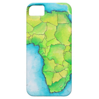 Map of Africa Barely There iPhone 5 Case