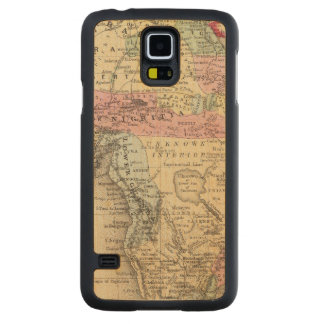 Map Of Africa Carved Maple Galaxy S5 Case