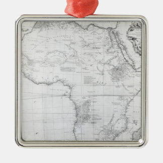 Map of Africa Christmas Ornament