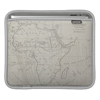 Map of Africa iPad Sleeve