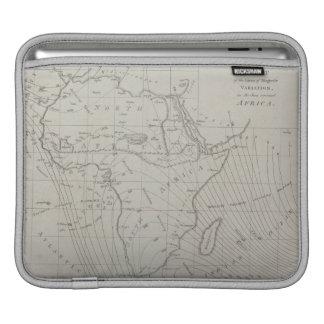Map of Africa iPad Sleeves