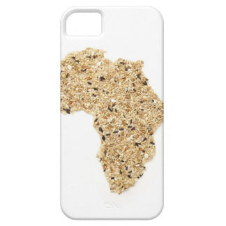 Map of Africa made of Cereals Barely There iPhone 5 Case