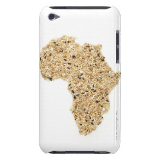 Map of Africa made of Cereals iPod Touch Case