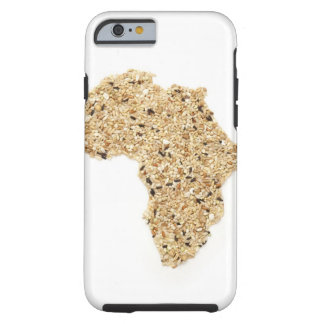 Map of Africa made of Cereals Tough iPhone 6 Case