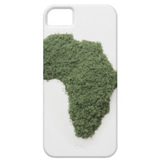 Map of Africa made of grass Barely There iPhone 5 Case