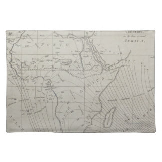 Map of Africa Placemat