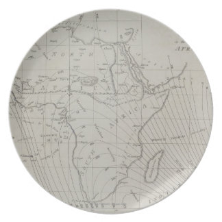 Map of Africa Plates
