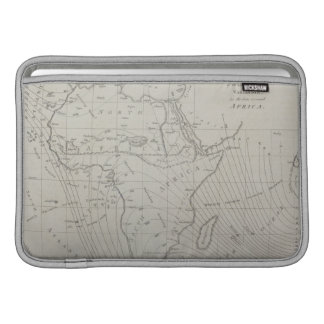 Map of Africa Sleeve For MacBook Air