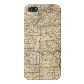 Map of Alabama iPhone 5/5S Cover