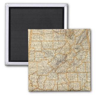 Map of Alabama Magnet