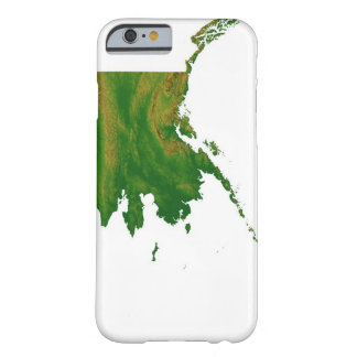 Map of Alaska 2 Barely There iPhone 6 Case