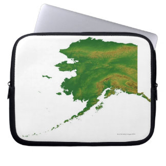 Map of Alaska 2 Laptop Sleeve