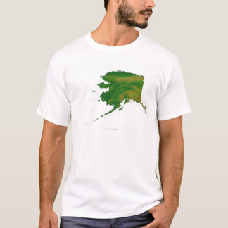 Map of Alaska 2 T-Shirt