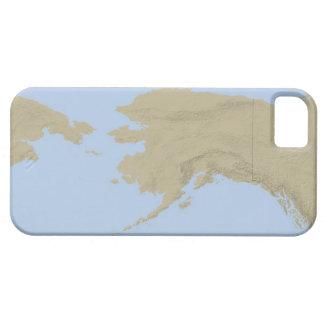 Map of Alaska 3 iPhone 5 Covers