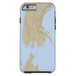 Map of Alaska 3 Tough iPhone 6 Case