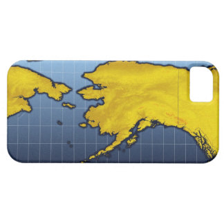 Map of Alaska Case For The iPhone 5