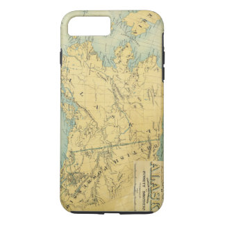 Map Of Alaska iPhone 8 Plus/7 Plus Case