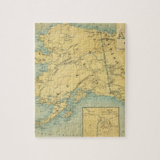 Map Of Alaska Jigsaw Puzzle