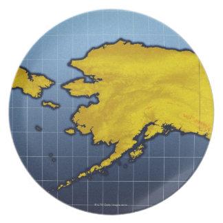 Map of Alaska Plates