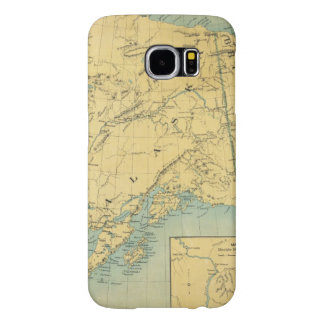 Map Of Alaska Samsung Galaxy S6 Cases