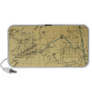 Map Of Alaska Notebook Speakers