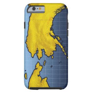 Map of Alaska Tough iPhone 6 Case