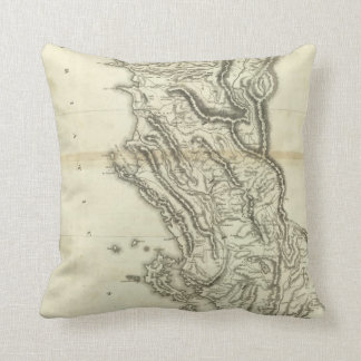 Map of Albania Cushion