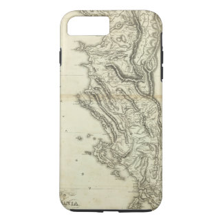 Map of Albania iPhone 8 Plus/7 Plus Case