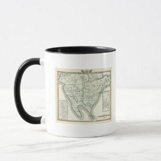 Map of Alexander & Pulaski counties Mug