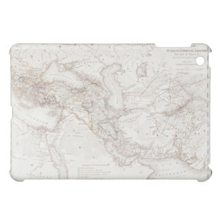 Map of Alexander the Greats Empire iPad Mini Cases