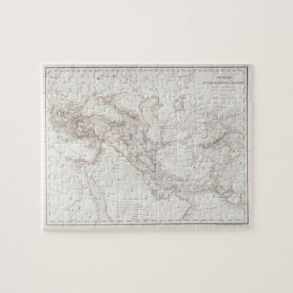 Map of Alexander the Greats Empire Jigsaw Puzzle