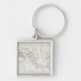 Map of Alexander the Greats Empire Key Ring