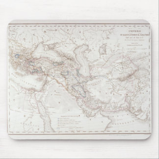 Map of Alexander the Greats Empire Mouse Pad
