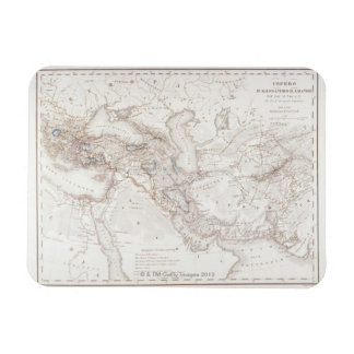 Map of Alexander the Greats Empire Rectangular Photo Magnet