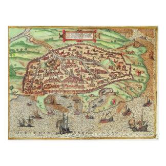 Map of Alexandria Postcard
