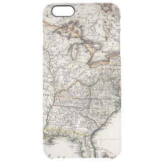 MAP OF AMERICA, 1809 CLEAR iPhone 6 PLUS CASE