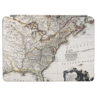 MAP OF AMERICA, 1809 iPad AIR COVER
