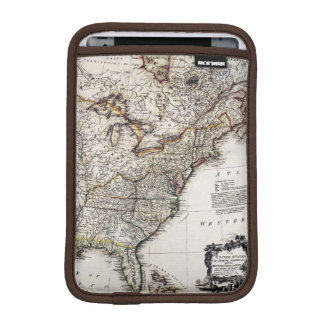 MAP OF AMERICA, 1809 iPad MINI SLEEVE