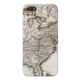 MAP OF AMERICA, 1809 iPhone 5 CASES