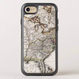 MAP OF AMERICA, 1809 OtterBox SYMMETRY iPhone 8/7 CASE