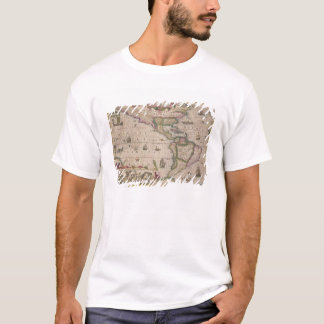Map of America, from the Mercator 'Atlas', pub. by T-Shirt
