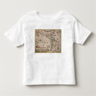 Map of America, from the Mercator 'Atlas', pub. by Toddler T-Shirt