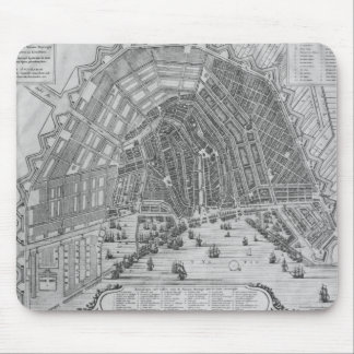 Map of Amsterdam, 1662 Mouse Mat