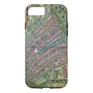Map of Amsterdam, from 'Civitates Orbis Terrarum' iPhone 7 Case