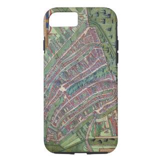 Map of Amsterdam, from 'Civitates Orbis Terrarum' iPhone 8/7 Case